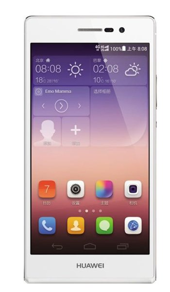 Huawei Ascend P7 Specs, review, opinions, comparisons