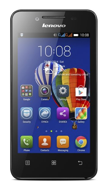 Lenovo A319 Specs, review, opinions, comparisons