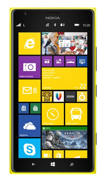 Nokia Lumia 1520 Specs, review, opinions, comparisons