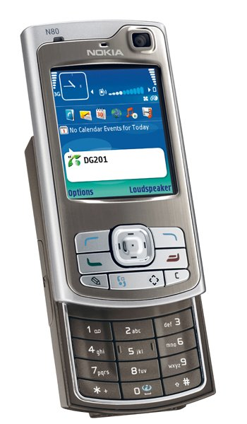 Nokia N80 Specs, review, opinions, comparisons