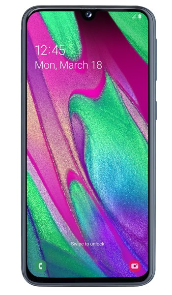 Samsung  Galaxy A40 Specs, review, opinions, comparisons