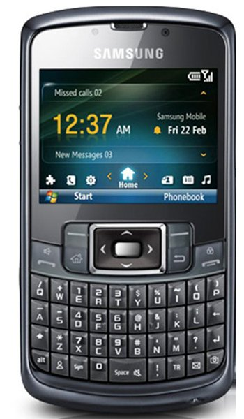 Samsung B7320 OmniaPRO Specs, review, opinions, comparisons