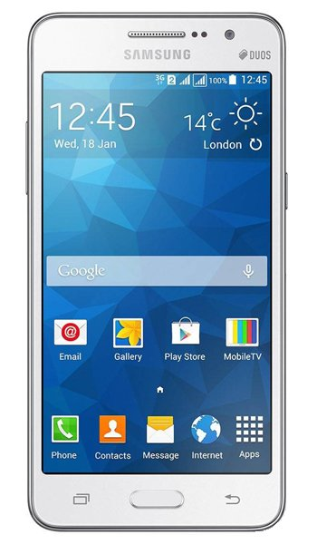 Samsung Galaxy Grand Prime Duos TV Specs, review, opinions, comparisons