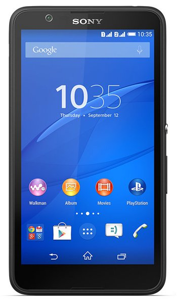 Sony Xperia E4 Dual Specs, review, opinions, comparisons